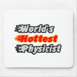 World's Hottest Physicist Mouse Pad