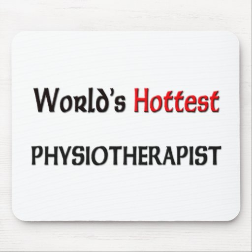 Worlds Hottest Physiotherapist Mouse Pads