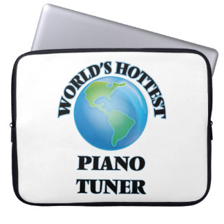 World's Hottest Piano Tuner Computer Sleeve