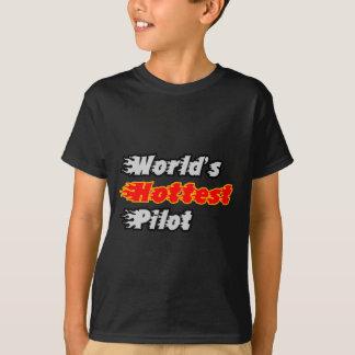 World's Hottest Pilot T-Shirt