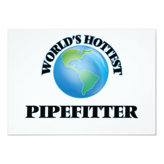 World's Hottest Pipefitter Personalized Announcement