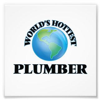 World's Hottest Plumber Photo Print
