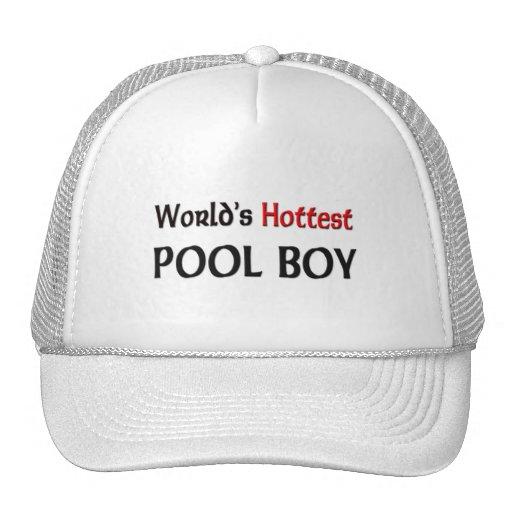 Worlds Hottest Pool Boy Trucker Hat