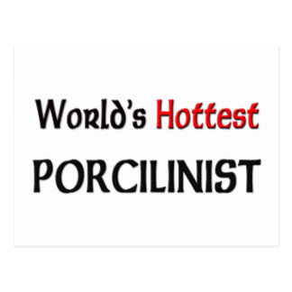 Worlds Hottest Porcilinist Post Cards