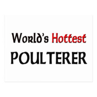 Worlds Hottest Poulterer Postcard