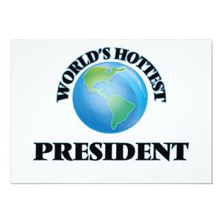 World's Hottest President Custom Announcement