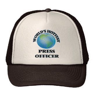 World's Hottest Press Officer Trucker Hats