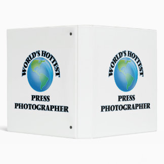 World's Hottest Press Photographer Vinyl Binders