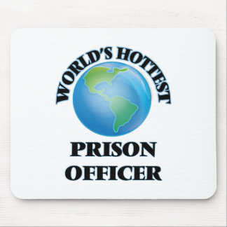 World's Hottest Prison Officer Mouse Pad