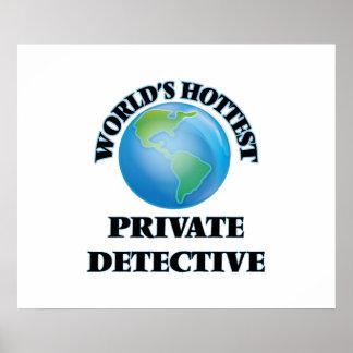 World's Hottest Private Detective Print