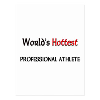 Worlds Hottest Professional Athlete Postcard