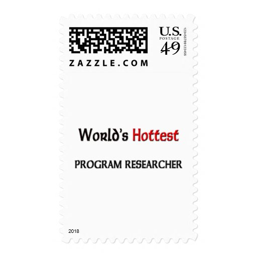 Worlds Hottest Program Researcher Postage