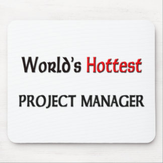 Worlds Hottest Project Manager Mouse Pad