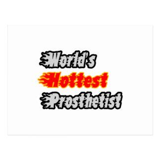 World's Hottest Prosthetist Postcard