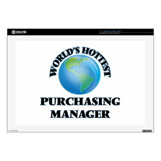 World's Hottest Purchasing Manager Laptop Decal
