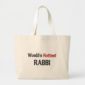 Worlds Hottest Rabbi Tote Bag