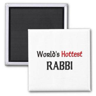 Worlds Hottest Rabbi Fridge Magnet