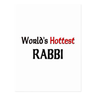 Worlds Hottest Rabbi Postcard