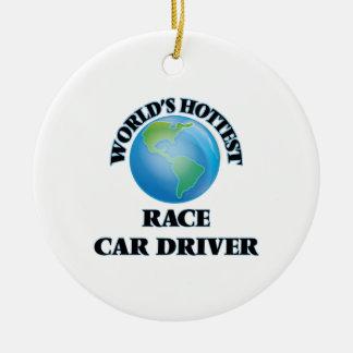 World's Hottest Race Car Driver Ornaments