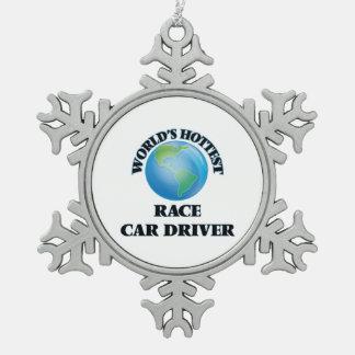 World's Hottest Race Car Driver Ornament