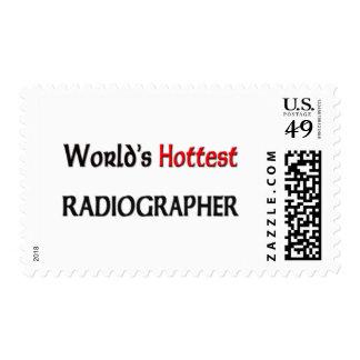 Worlds Hottest Radiographer Stamp