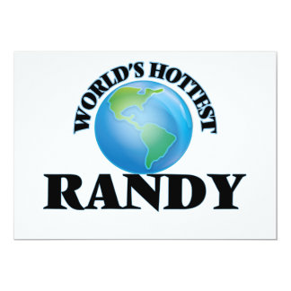 World's Hottest Randy Cards