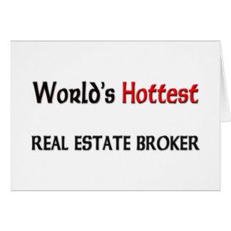 Worlds Hottest Real Estate Broker Card