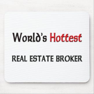 Worlds Hottest Real Estate Broker Mouse Pad