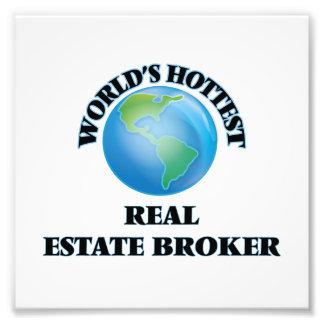 World's Hottest Real Estate Broker Art Photo