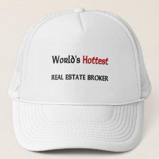 Worlds Hottest Real Estate Broker Trucker Hat