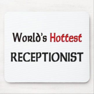 Worlds Hottest Receptionist Mouse Pad