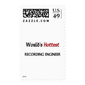 Worlds Hottest Recording Engineer Stamp