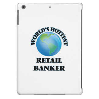 World's Hottest Retail Banker iPad Air Covers
