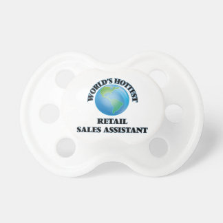 World's Hottest Retail Sales Assistant Baby Pacifier