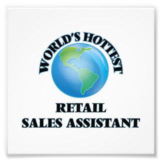 World's Hottest Retail Sales Assistant Photo Art