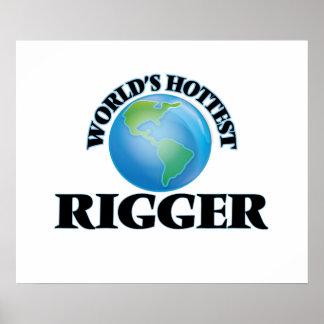 World's Hottest Rigger Print