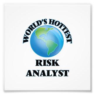 World's Hottest Risk Analyst Photo Art