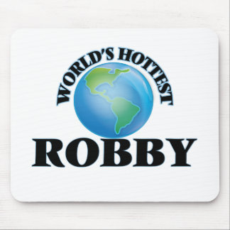 World's Hottest Robby Mouse Pad