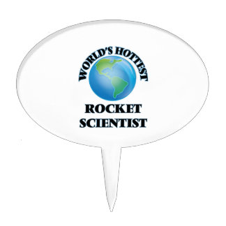 World's Hottest Rocket Scientist Cake Toppers