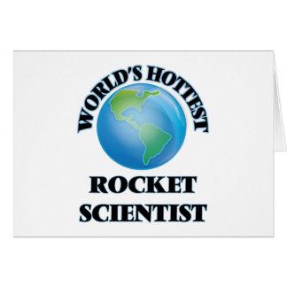 World's Hottest Rocket Scientist Card