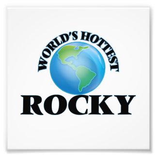 World's Hottest Rocky Photo Art