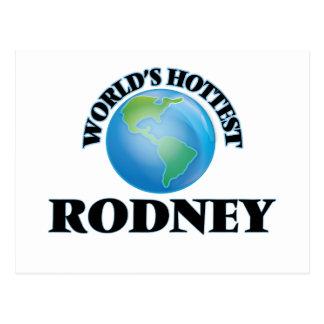 World's Hottest Rodney Postcards
