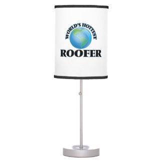 World's Hottest Roofer Desk Lamp