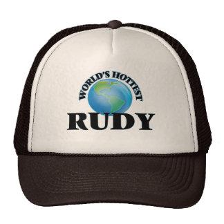 World's Hottest Rudy Trucker Hats