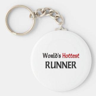 Worlds Hottest Runner Keychains