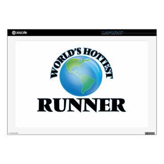 """World's Hottest Runner 17"""" Laptop Skins"""