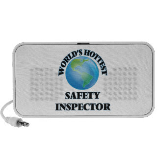World's Hottest Safety Inspector iPod Speakers