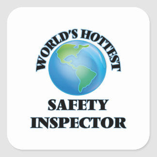 World's Hottest Safety Inspector Stickers