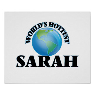 World's Hottest Sarah Poster