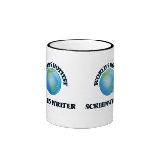 World's Hottest Screenwriter Coffee Mug